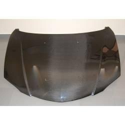 Carbon Fibre Bonnet Mazda 3 4-Door, Without Air Intake
