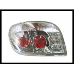 Set Of Rear Tail Lights Toyota Yaris 1998, Lexus Chromed