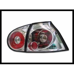 Set Of Rear Tail Lights Volkswagen Golf 5, Lexus Chromed