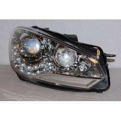 Set Of Headlamps Day Light Volkswagen Golf 6 09-12 DRL Look R20