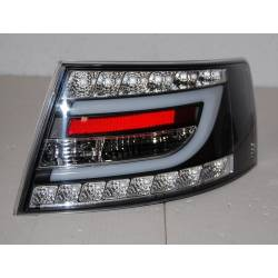 Pilotos Traseros Cardna Audi A6 '04-08 Led Black Lightbar