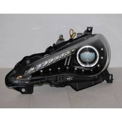 Set Of Headlamps Toyota GT 86 2012 Daylight Black  RHD