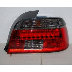 Set Of Rear Tail Lights BMW E39 01-03 Led Red/Smoked