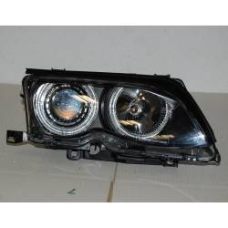 Faros Delanteros Ojos De Angel BMW E46 '02/'05 4P. Elect. Black