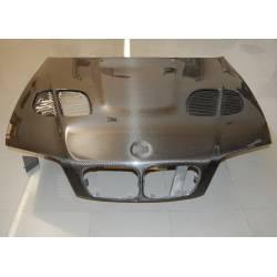 Carbon Fibre Bonnet BMW E46 1998-2001 4-Door Look M3 GTR