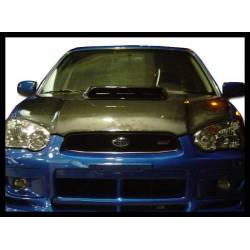 Carbon Fibre Bonnet Subaru Impreza 2004, Without Air Intake