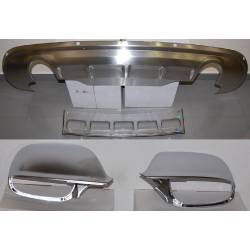 BODY KIT AND CHROMED MIRROR COVERS AUDI Q5 2013