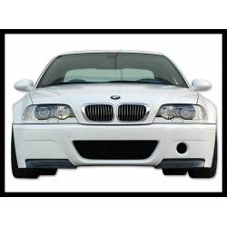 Front Bumper BMW E46 M3 CSL Type With Carbon Fibre Tips