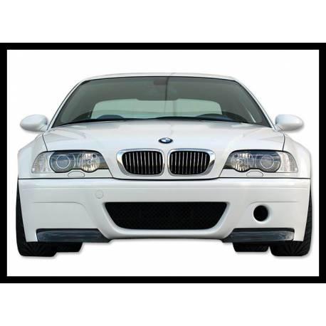 Front Bumper Bmw E46 M3 Csl Type With Carbon Fibre Tips Bimar