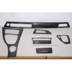 Carbon Fibre inside kit BMW E92 IDRIVE 6 PIECES