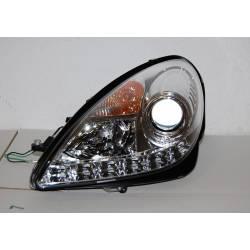 Set Of Headlamps Day Light Mercedes SLK 2004-2010 R171