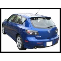 Rear Spoiler Mazda 3 2003-2005, 5-Door, RS Type