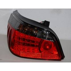 Set Of Rear Tail Lights BMW E60 Led Chromed & Red