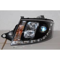 Set Of Headlamps Day Light Audi TT 98-05 8N 12Pin Black