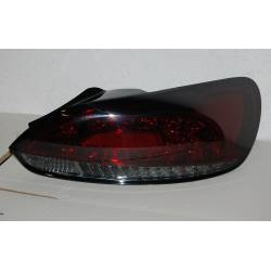 Pilotos Traseros Volkswagen Scirocco 2008-2013 Led Red Smoked