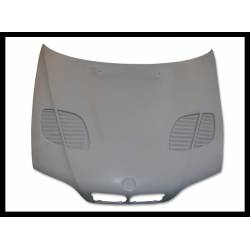 Fibreglass Bonnet BMW E46 1998-2002 4-Door GTR Type