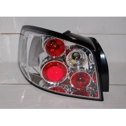 Set Of Rear Tail Lights Audi A3 2003-2008 Lexus Chromed