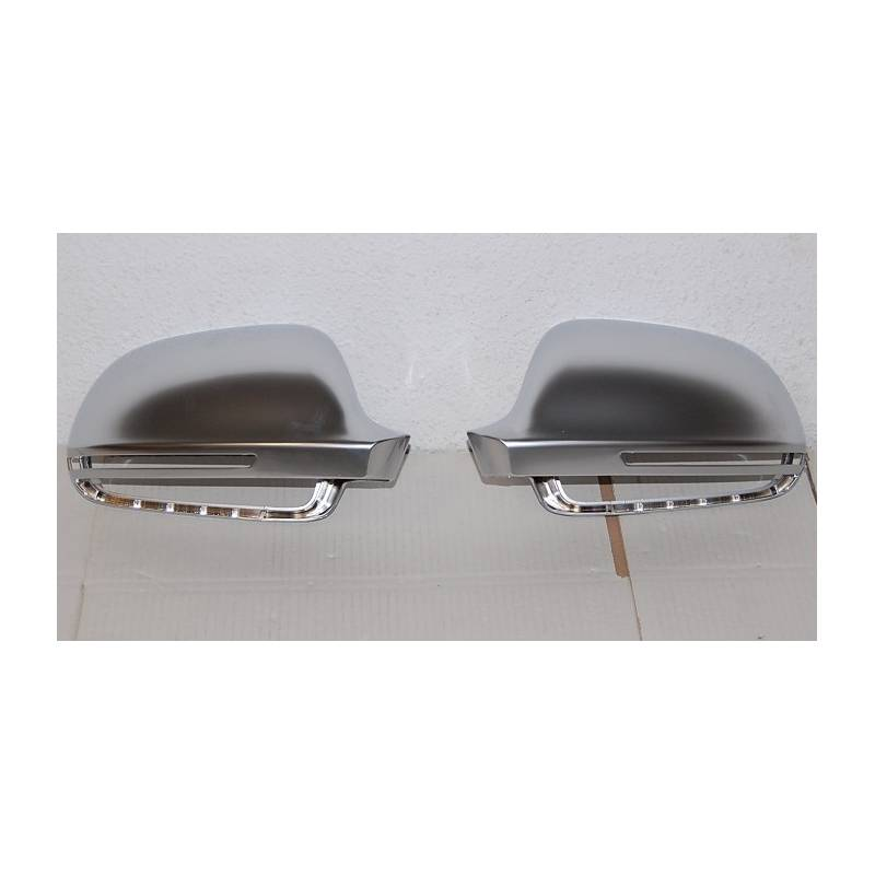 Front Bumper And Chromed Mirror Covers Audi A3 & Sportback
