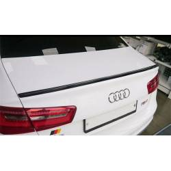 CARBON FIBRE LOWER SPOILER AUDI A6 C6 2005-2010