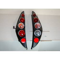 Set Of Rear Tail Lights Fiat Punto 1999 Lexus Black