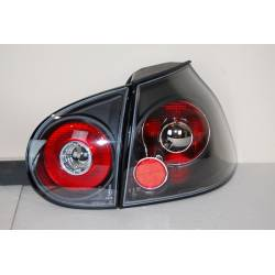 Set Of Rear Tail Lights Volkswagen Golf 5, Lexus Black Smoked